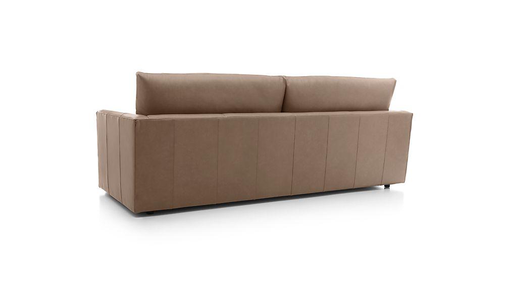"""Lounge II Petite Leather 93"""" Sofa"""