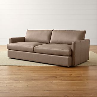 "Lounge II Leather 93"" Sofa"