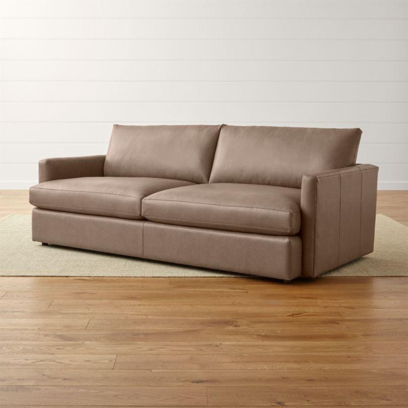 Lounge Ii 93 Sofa Reviews Crate And Barrel