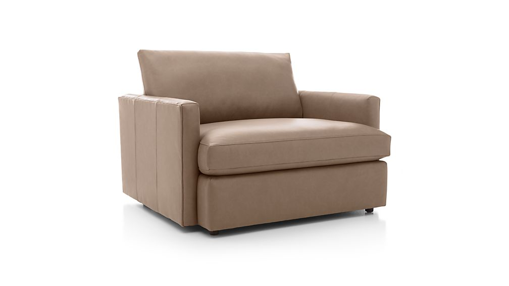 Lounge II Leather Chair and a Half