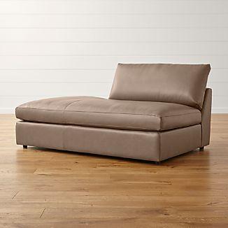 Lounge II Petite Leather Left Bumper
