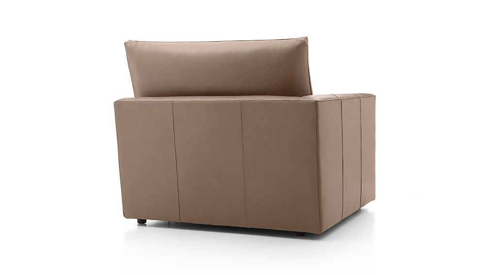 Lounge II Leather Left Arm Chair