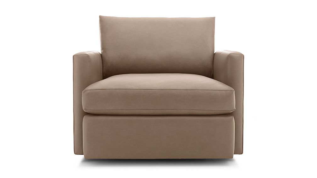 Lounge II Leather Swivel Chair