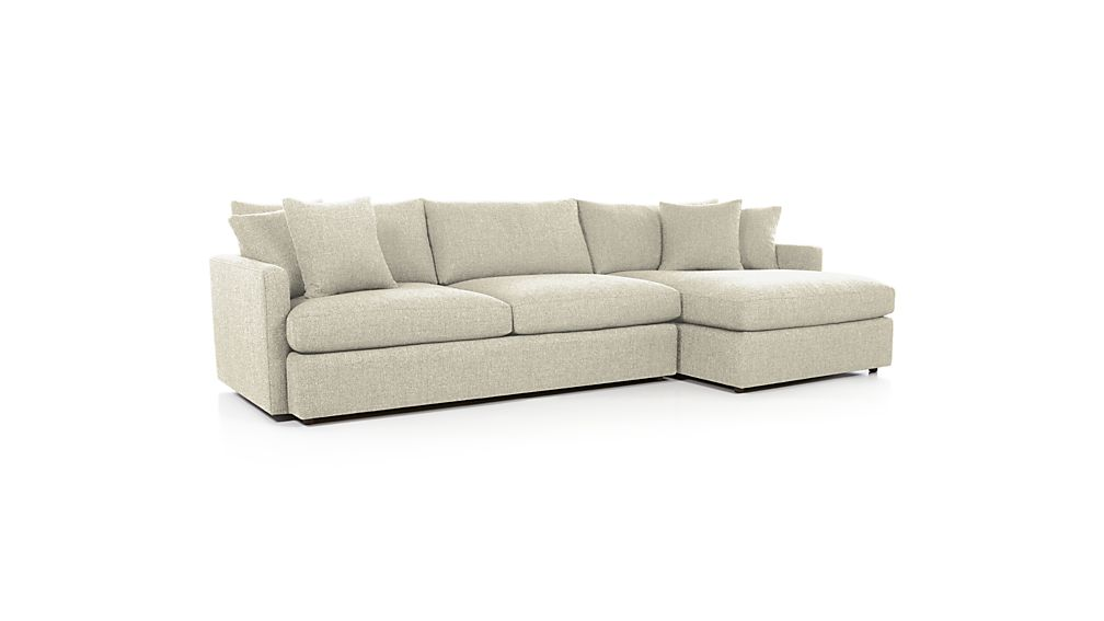 Lounge II Deep Sectional Sofa Crate and Barrel