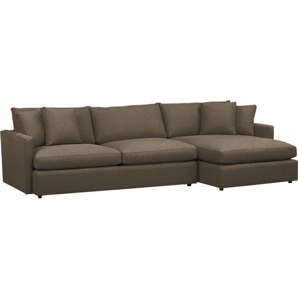 Lounge 2-Piece Sectional Sofa