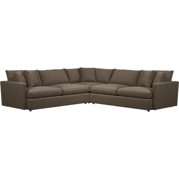 Lounge 3-Piece Sectional Sofa