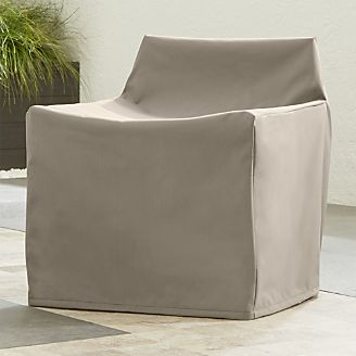 Outdoor Small Lounge Chair Cover & Outdoor Patio Furniture Covers | Crate and Barrel