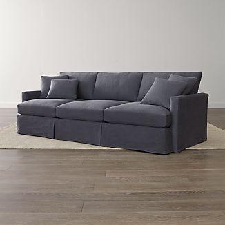 "Lounge II Slipcovered 3-Seat 105"" Grande Sofa"