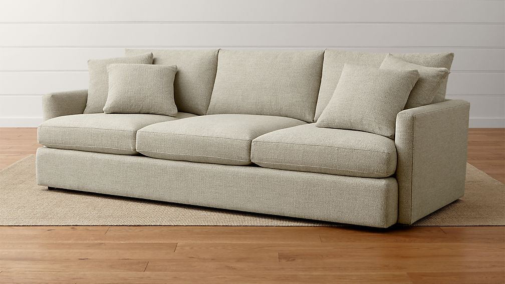 Lounge II 3-Seat 105u0026quot; Grande Sofa : Crate and Barrel