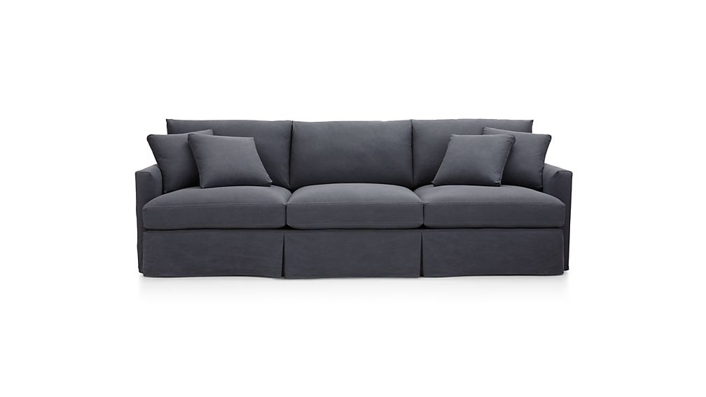"Lounge II Slipcovered 3-Seat 105"" Grande Sofa"