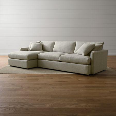Lounge Ii Deep Seated Sectional Sofa