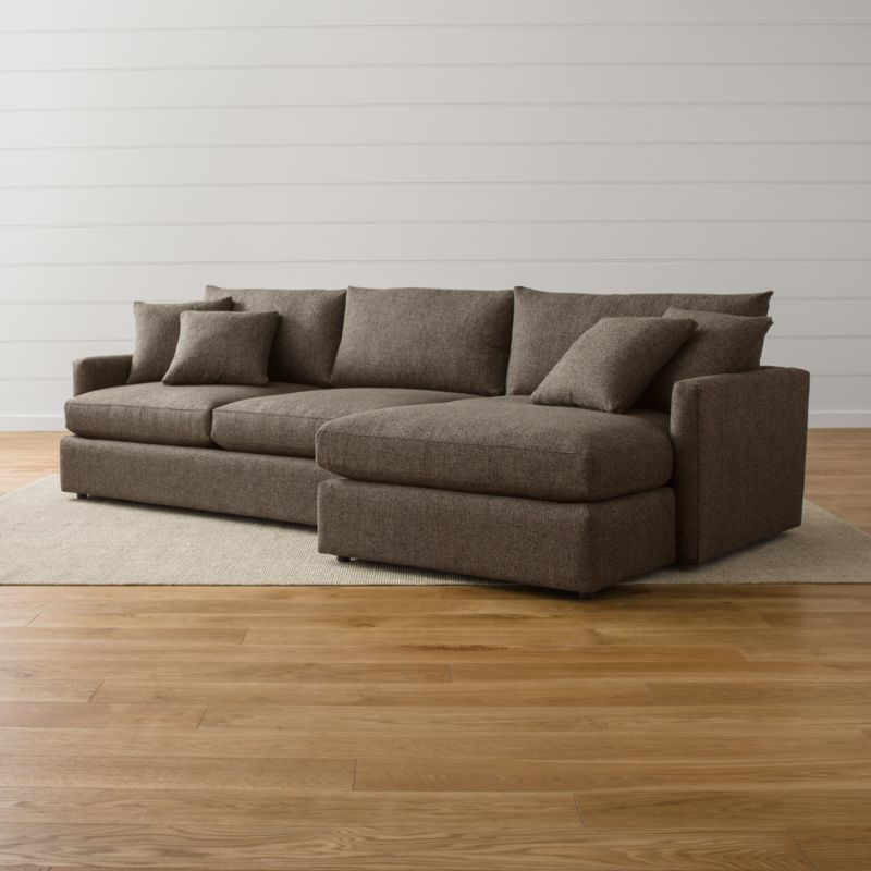 : two piece sectional couch - Sectionals, Sofas & Couches