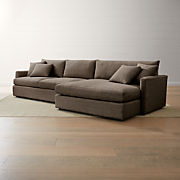 the latest d0e6c 4ebf6 Deep Sectional Sofas | Crate and Barrel