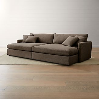 Lounge Ii 2 Piece Double Chaise Sectional Sofa