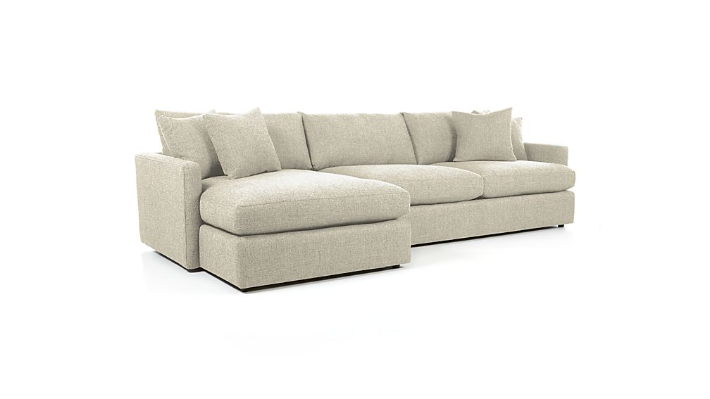 Lounge Ii Deep Seated Sectional Sofa Reviews Crate And
