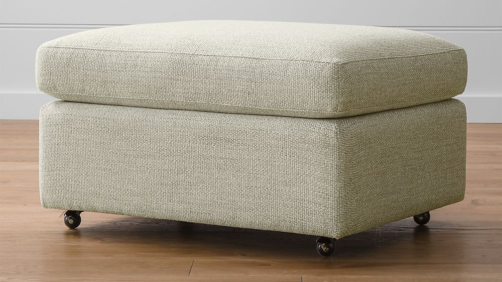Lounge Ii 32 Ottoman With Casters Reviews Crate And