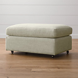 Lounge Ii 93 Quot Sofa Taft Cement Crate And Barrel