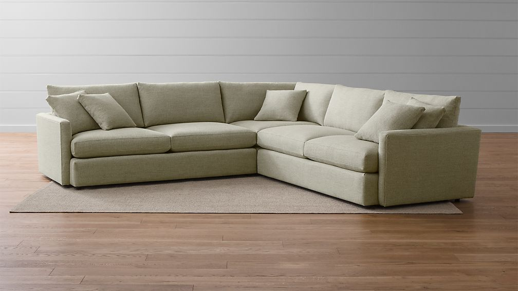 Sectional Lounge Sofa Reviews Crate And Barrel