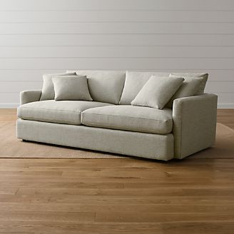 Lounge Ii 93 Sofa Reviews Crate And Barrel