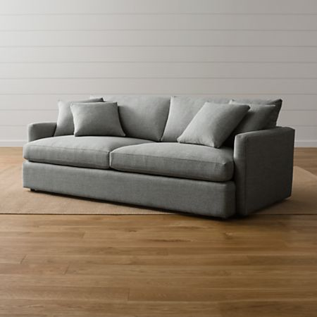 Lounge Ii Grey Couch Reviews Crate