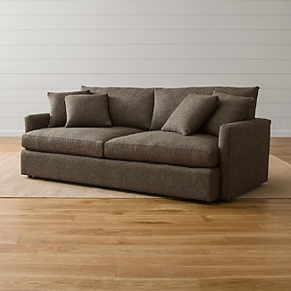 Deep Sofas Crate And Barrel