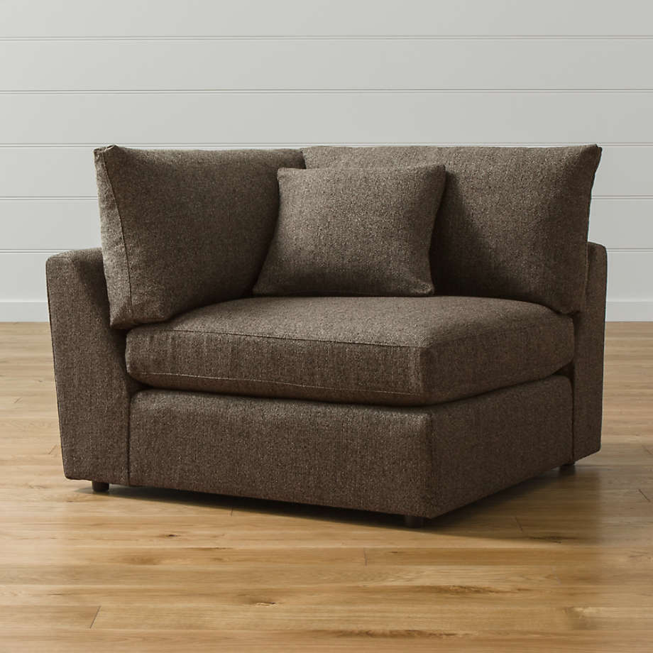Lounge Corner Chair Reviews Crate And Barrel