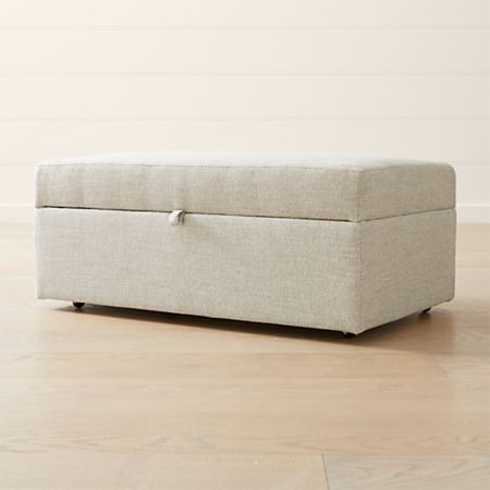 Outstanding Lounge Ii Deep Storage Ottoman Ncnpc Chair Design For Home Ncnpcorg