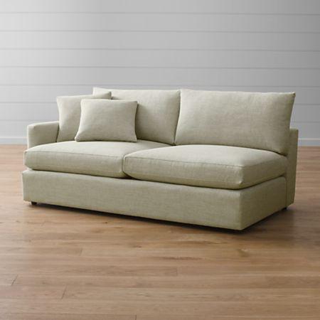 Lounge Ii Beige Left Arm Sofa Reviews