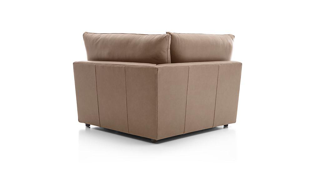 Lounge II Petite Leather Corner Chair