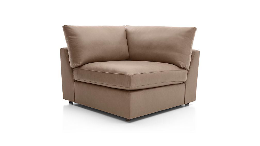 Lounge II Leather Corner Chair