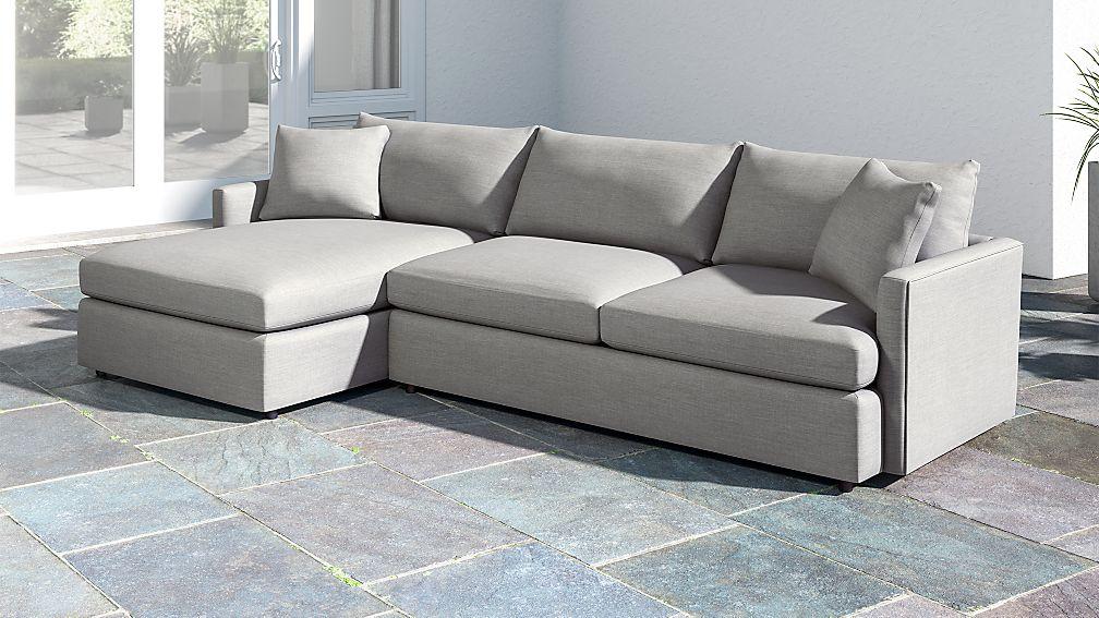 Lounge Ii Petite Outdoor Upholstered 2 Piece Left Arm