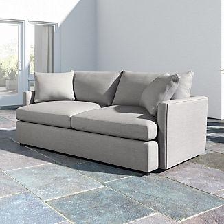 """Lounge II Petite Outdoor Upholstered 83"""" Sofa"""