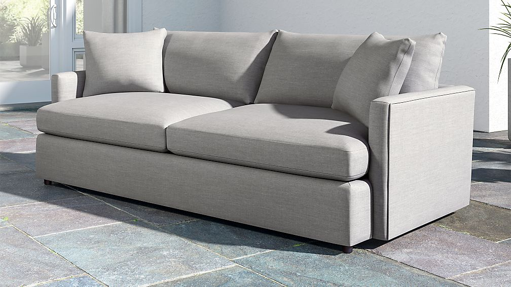 "Lounge II Petite Outdoor Upholstered 93"" Sofa Reviews"