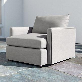 Lounge II Petite Outdoor Upholstered 360 Swivel Chair