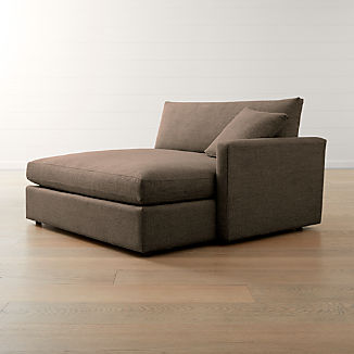 Lounge II Petite Right Arm Double Chaise