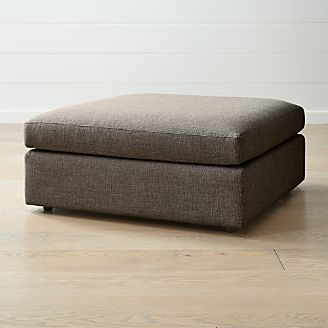 Storage Ottomans And Cubes Crate And Barrel