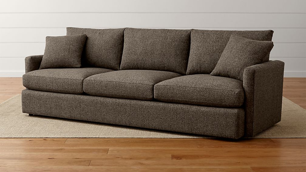 Lounge II Long Narrow Sofa Crate and Barrel