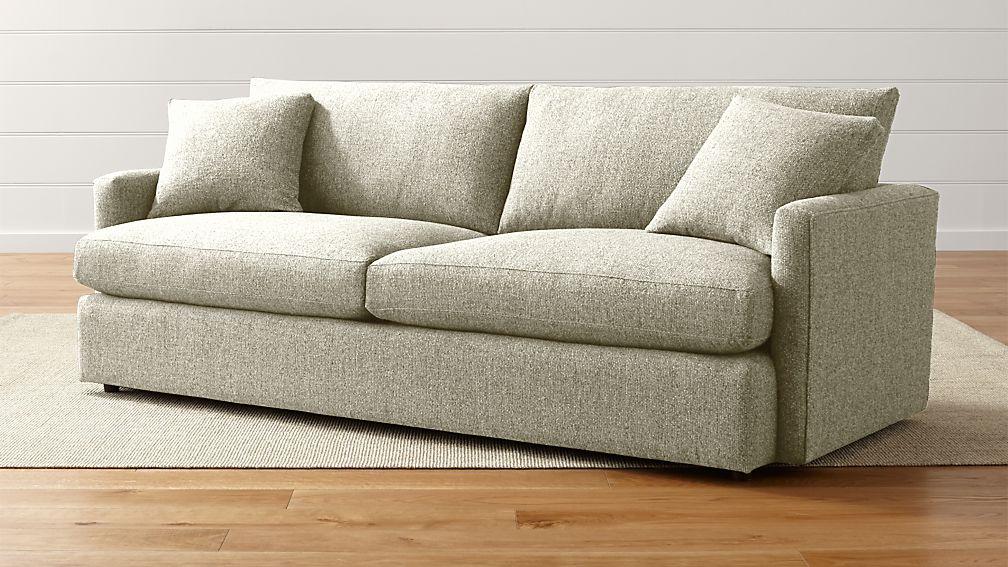 Lounge Ii Beige Sofa Reviews Crate And Barrel