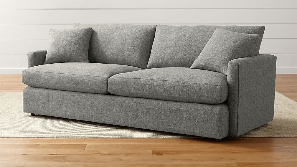 Lounge sofa  Lounge II Narrow Sofa | Crate and Barrel