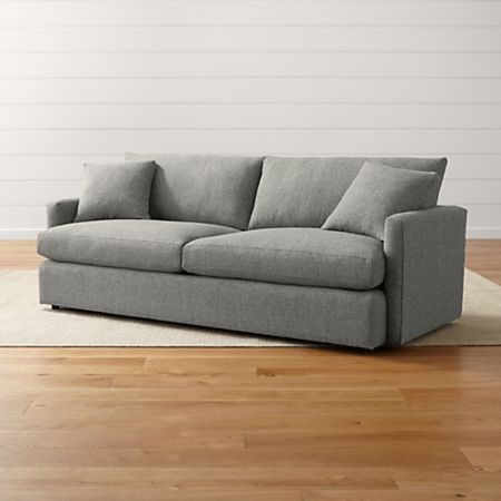 Lounge Ii Narrow Sofa Reviews Crate