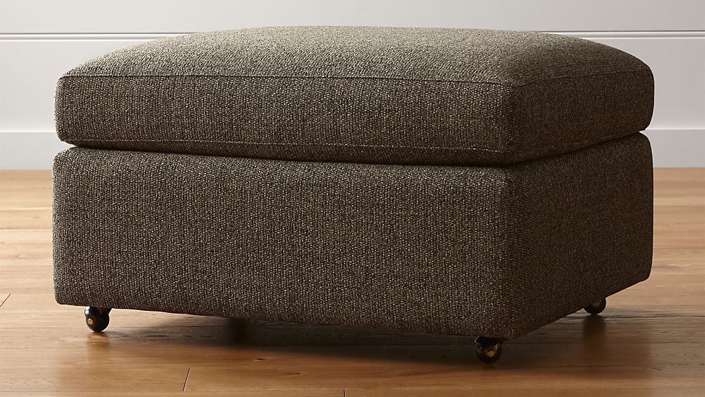 """Lounge II Petite 32"""" Ottoman with Casters - Image 1 of 4"""