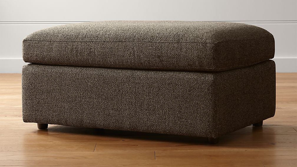 "Lounge II Petite 37"" Ottoman with Casters"