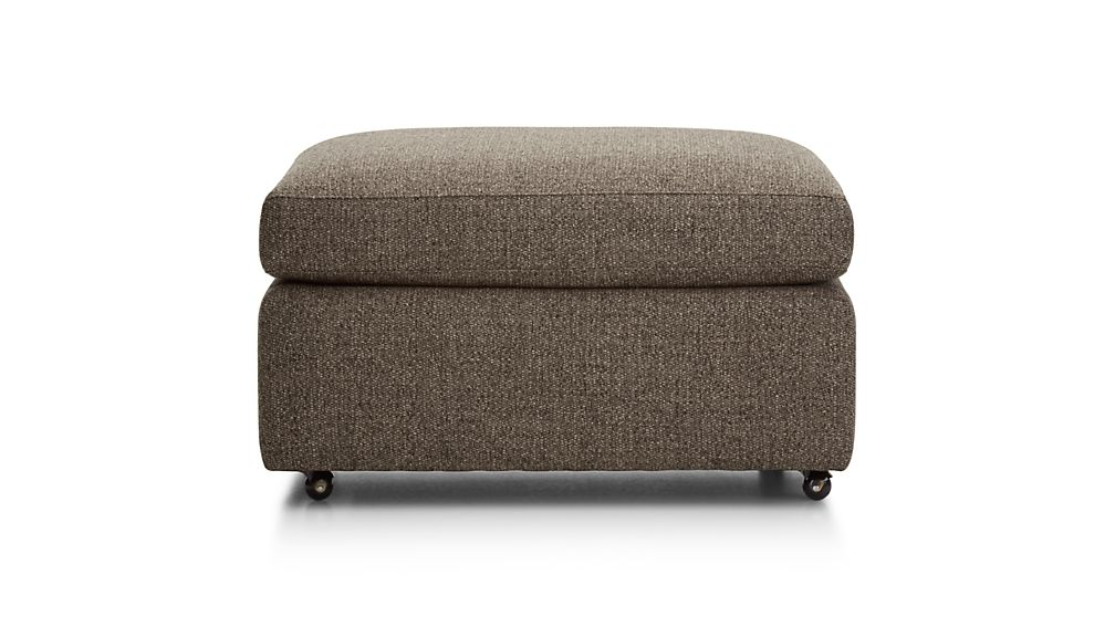 "Lounge II Petite 32"" Ottoman with Casters"