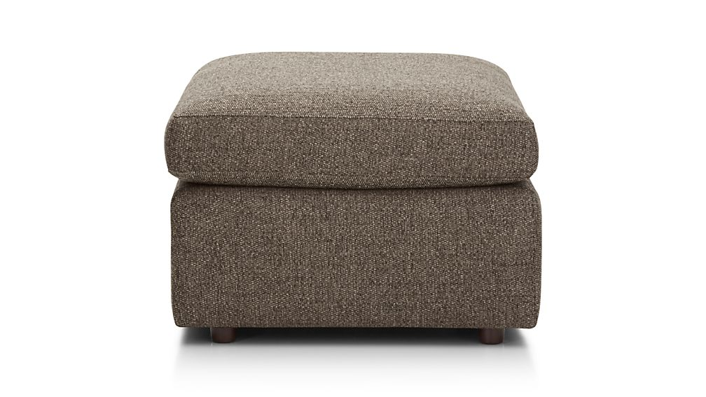 """Lounge II Petite 37"""" Ottoman with Casters"""