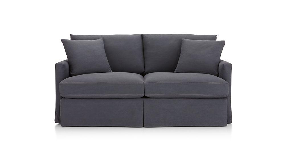 Lounge II Petite Slipcovered Apartment Sofa