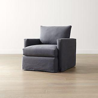 Lounge II Petite Slipcovered Chair