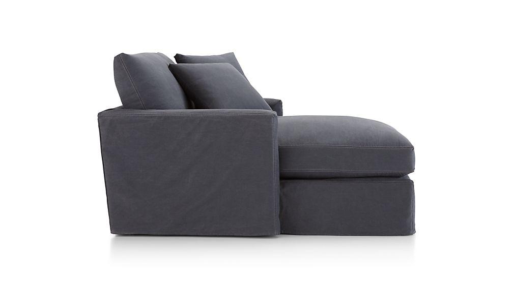 Lounge II Petite Slipcovered Chaise