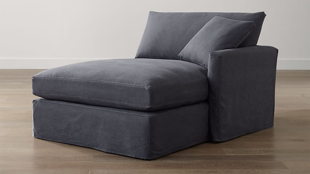 Slipcover Only for Lounge II Petite Right Arm Chaise