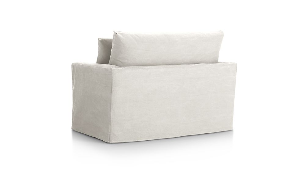 Slipcover Only for Lounge II Petite Ottoman and a Half