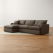 Small Scale Sectional Sofas | Crate and Barrel